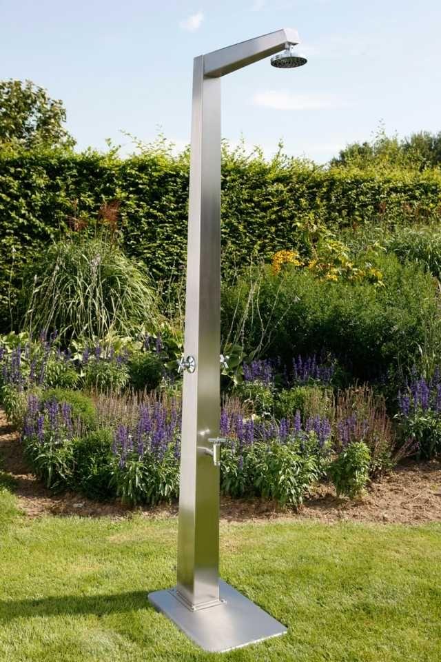 17 Best Ideas About Gartendusche Edelstahl On Pinterest | Outdoor ... Ideen Gartendusche Design Erfrischung