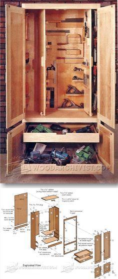 Shop Cabinet Plans - Workshop Solutions Plans, Tips and Tricks   WoodArchivist.com