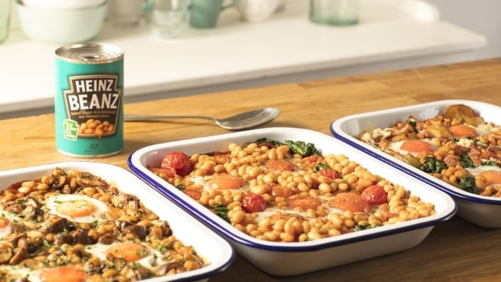 Customise these bean and egg bakes with your favourite ingredients. They're a great source of protein to help kick start your day in a delicious way.