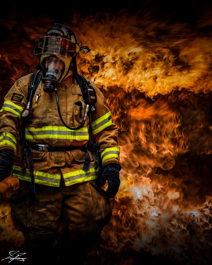 Today in Las vegas it was 114℉ all day and Our Fire Fighters were rescuing people from hear stroke and heat exhaustion while other crews were fighting fires. Fire Fighters, EMS, and PD. They work no matter what is going on.