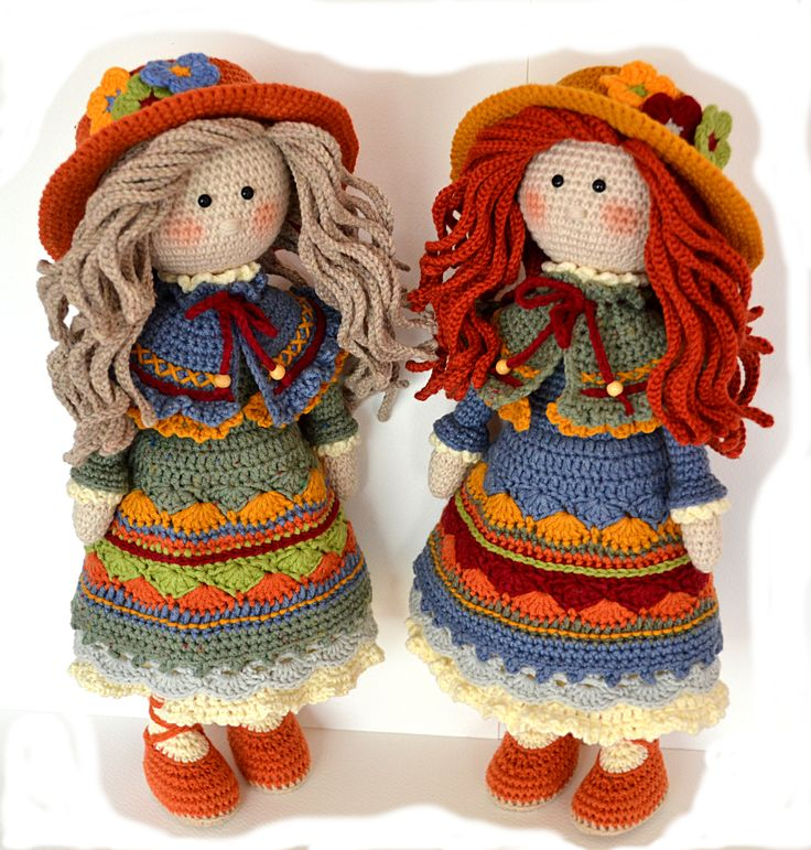Crochet amigurumi doll pattern Crochet toy pattern PDF Crochet girl doll NASTASSJA ( English, Deutsch)