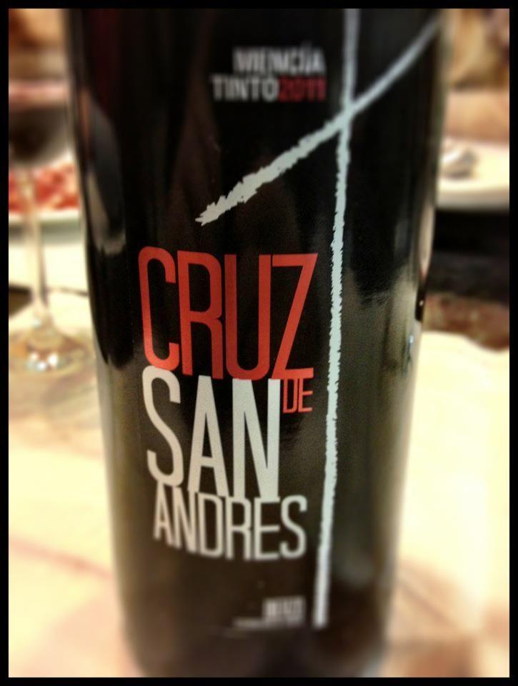 El Alma del Vino.: Aurelio Feo Viticultor Cruz de San Andrés Mencía 2011.