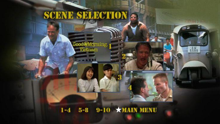 Good Morning Vietnam Disney : Good morning vietnam dvd scene selection menu na no