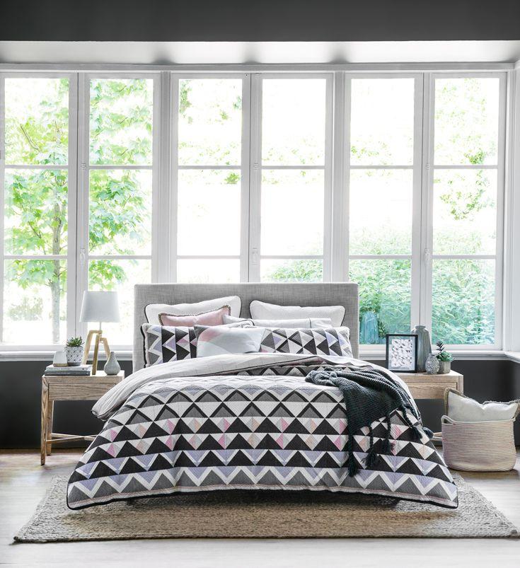 Modern living with Harper #bedroom #bedbathntable