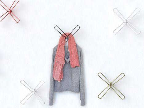 X Hanger by Kfir Schwalb #design #idea #clothing #inspiration