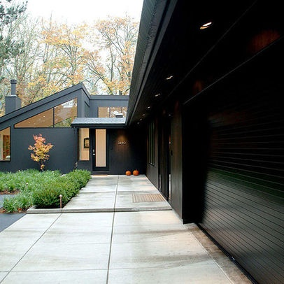 Dark Gray House Exterior Design Ideas, Pictures, Remodel, and Decor - page 5
