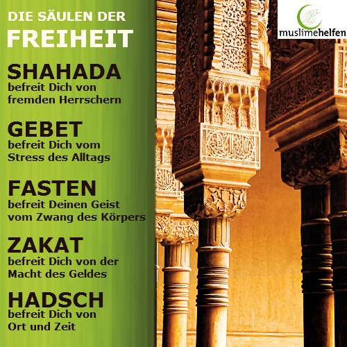 The freedom and beauty of the 5 pillars of #islam  Islam ist wunderschön