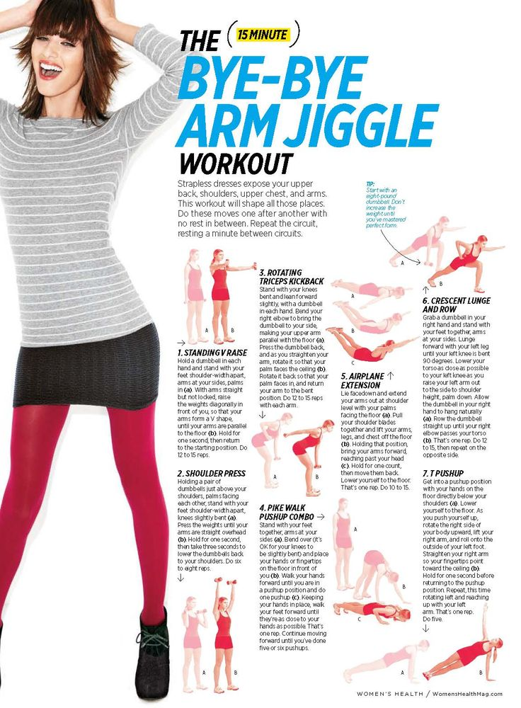 A quick 15-minute arm workout that you can do at home.
