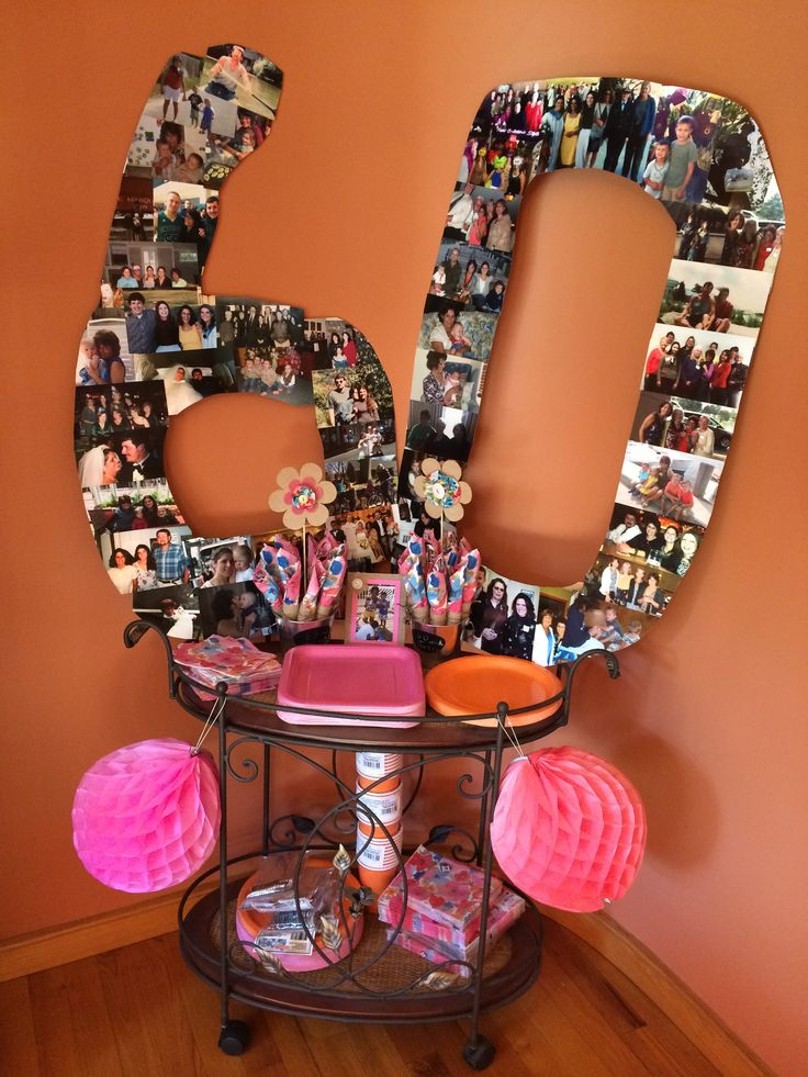 62 best 60th birthday party ideas images on Pinterest ...