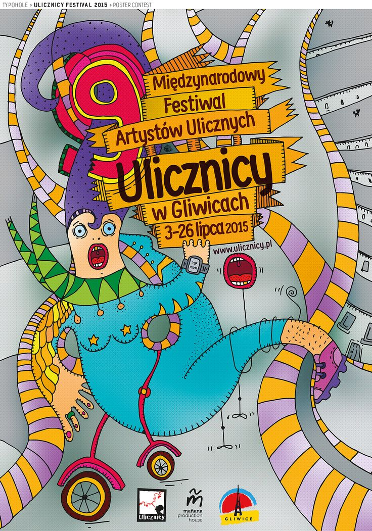 Poster Contest / Ulicznicy /(c) basia lukasik, http://www.typohole.com)