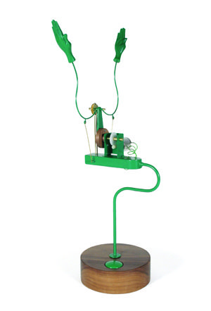 Applause Machine (Signal Green)  by Martin Smith for Laikingland