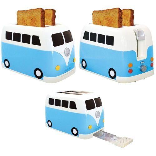 volkswagen camper van toaster mini bus blue vw campervan. Black Bedroom Furniture Sets. Home Design Ideas