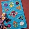 Un tapis en toile de jute peinte - Marie Claire Idées