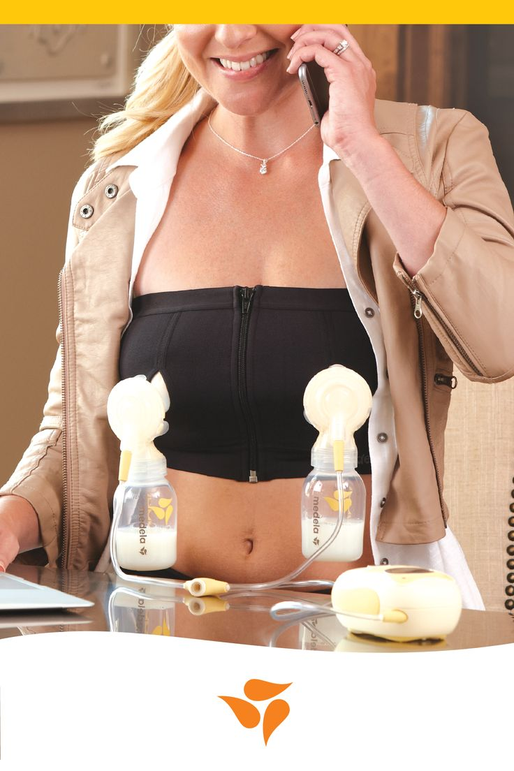NEW and IMPROVED hands-free pumping bustier - now featuring Adaptive Stretch™!