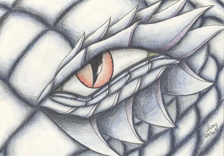 Drawings Of Dragons Eyes