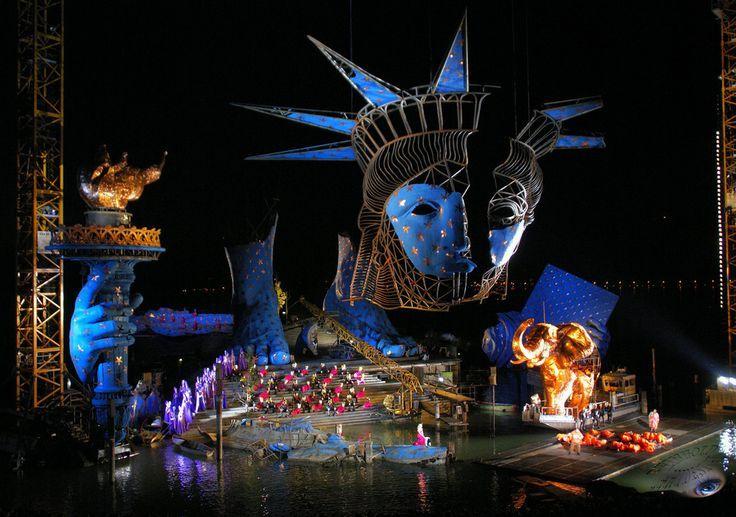Opera Aida, Bregenz