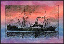 Ship, Freight, Ocean Liner, Ss