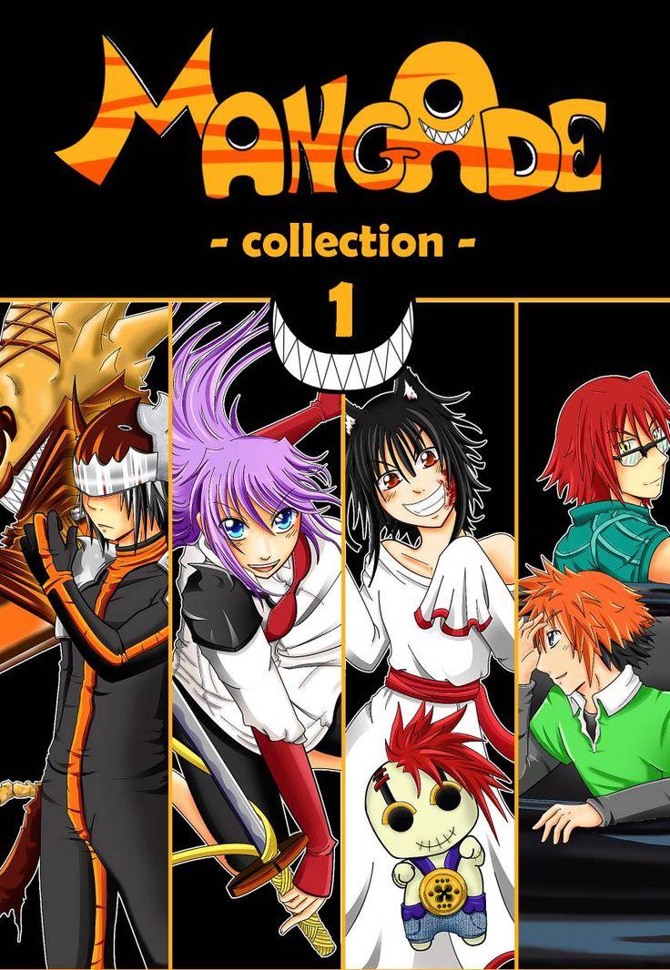 Mangade Collection Vol 1 | ADE - MangAde collection Vol. 1 è una raccolta di one-shot. Un mix di fantasy, sovrannaturale, horror, comico e con anche un tocco moderno.