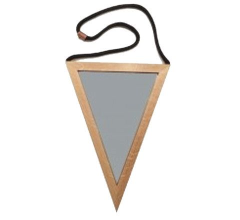 The Minimalist - Triangle Mirror