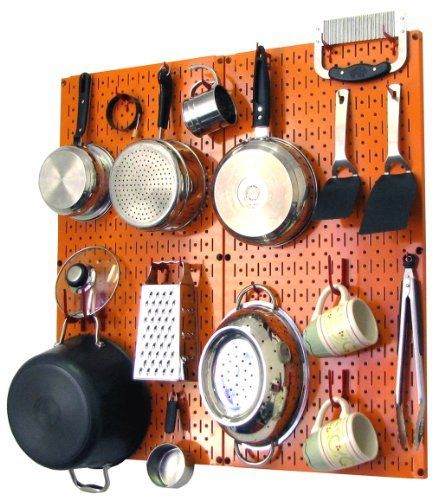 Pegboard Kitchen Storage: 373 Best Pegboard Products Images On Pinterest