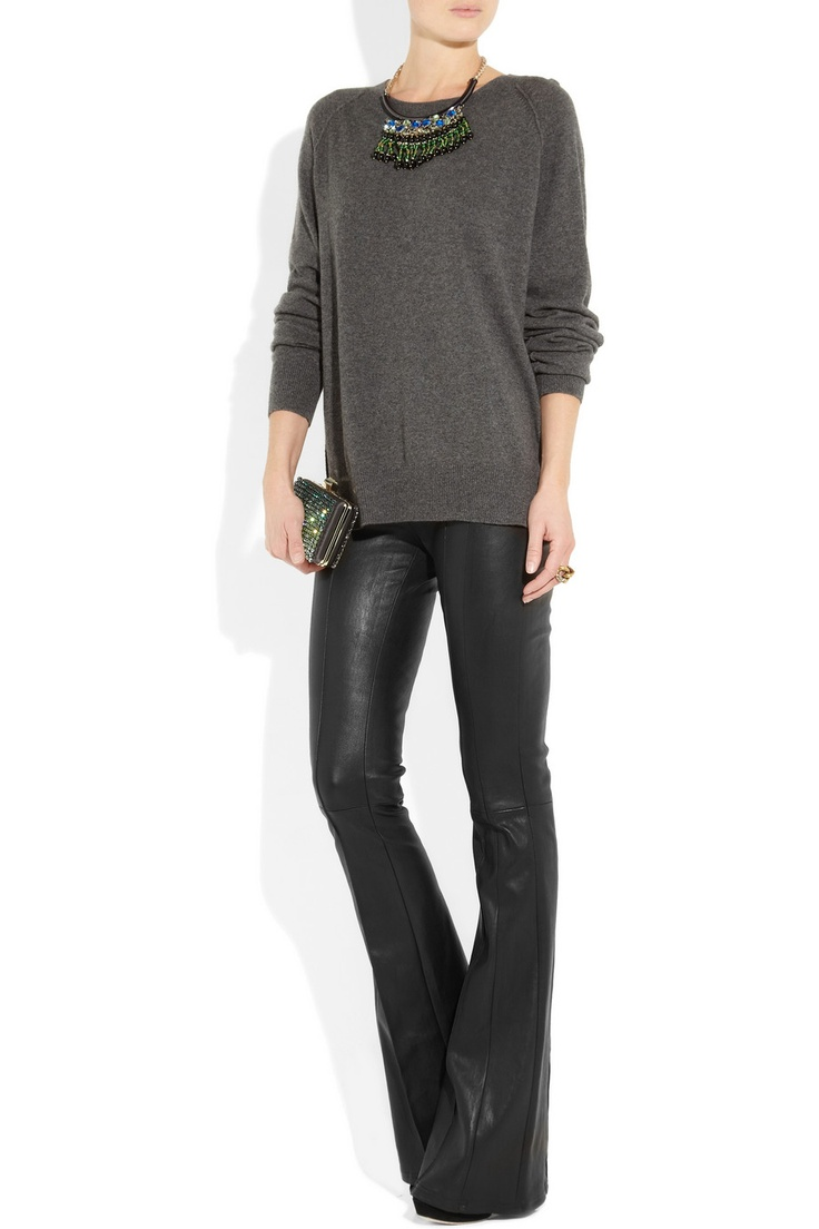 Leather Flares, is there something wrong with me that I might love this?
