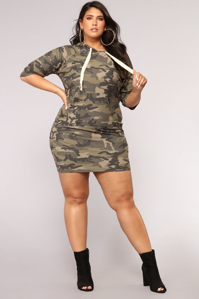 2d98b6c65fb Fightin  For It Tunic - Olive Fashion Nova Curve