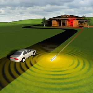 Want to know when a car arrives at your home? Simple solution: install a #drivewayalarm. www.homecontrols.com