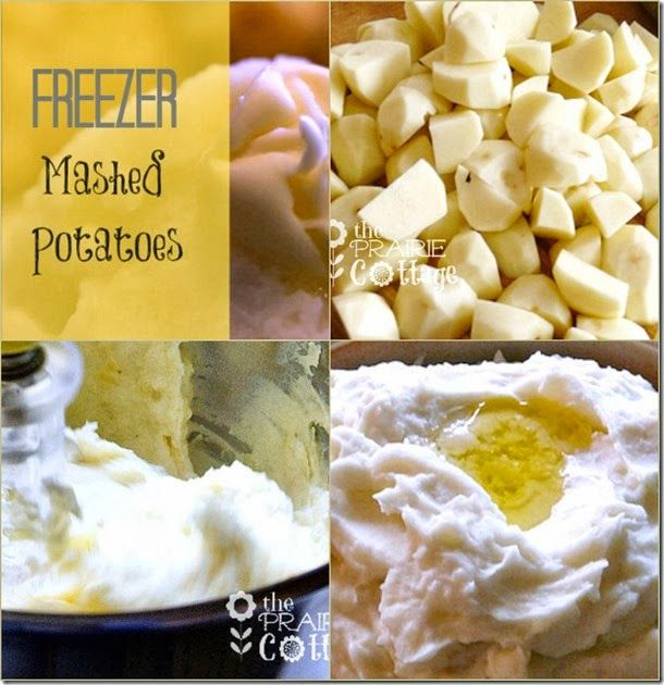 Make Ahead Freezer Mashed Potatoes | the prairie cottage | day 14 make ahead holiday recipes