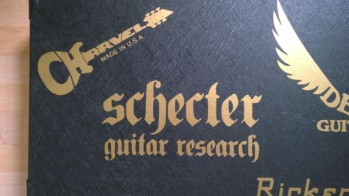 Schecter-Research-Logo-possible sticker for the rear window $ 16 posted.... http://www.ebay.com.au/itm/251594268673?_trksid=p2055119.m1438.l2649&ssPageName=STRK%3AMEBIDX%3AIT