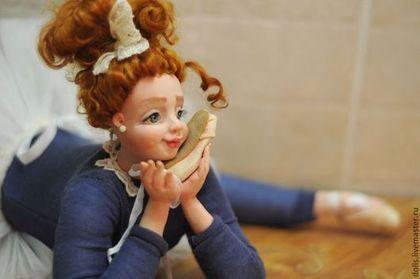 Коллекционные куклы ручной работы. Ярмарка Мастеров - ручная работа мечты о балете!. Handmade.