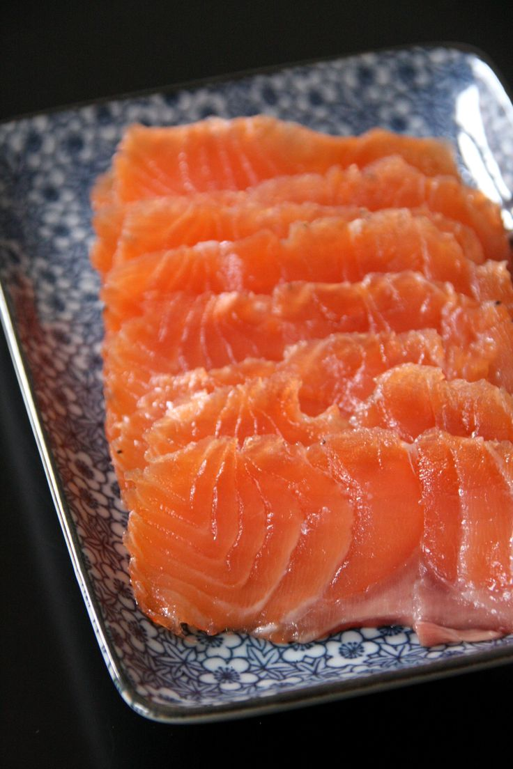 gravlax saumon gingembre