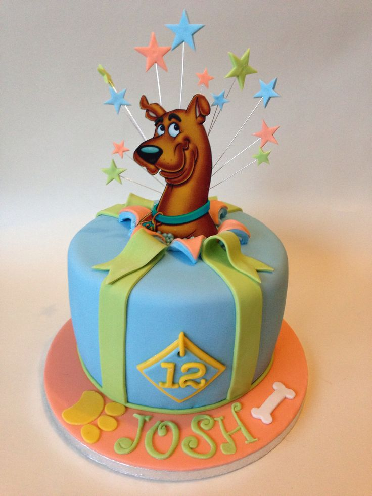 Pin by kelsey kay on birthday cakes scooby doo cake