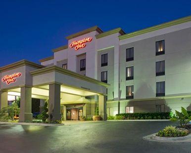 Hampton Inn Cumming Hotel, GA - Exterior at Night