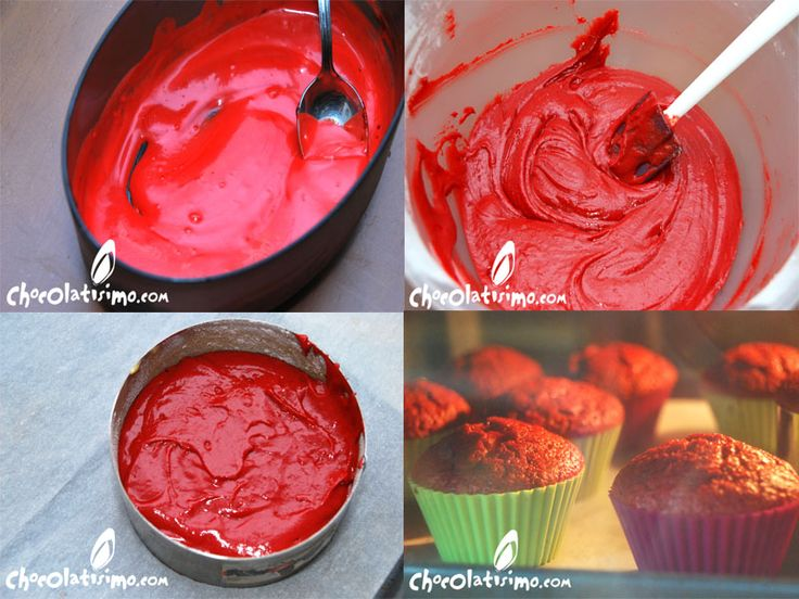 Red Velvet Cupcakes ¡Receta original! Paso a PasoCupcakes Chocolatisimo, Cupcakes Red, Cupcakes Recetas, Chocolates Recipe, Redvelvet Chocolates, Red Velvet Cupcakes, Cake Redvelvet, Cake Sweets, Recetas Cupcakes