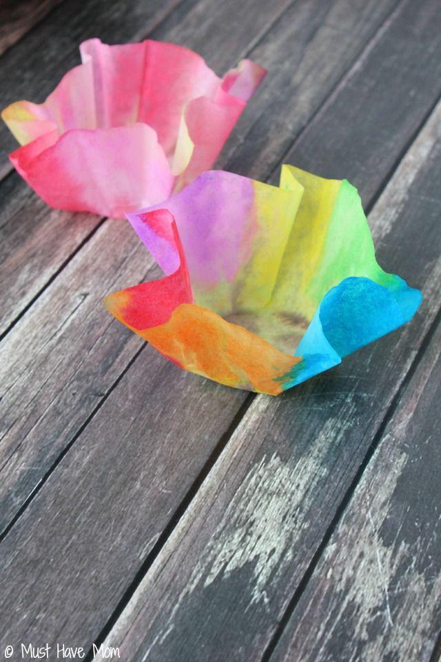 Easy 3 Step DIY Paper Bowls Kids Craft Idea