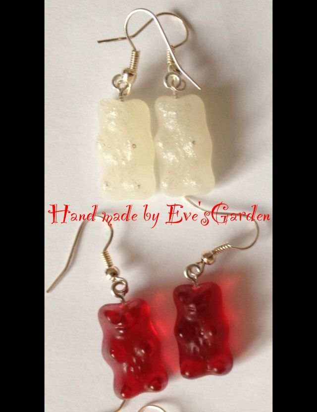 Resin Haribo earrings