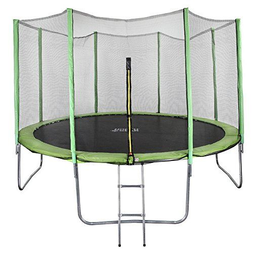 North Gear 12 Foot Trampoline Set With Safety Enclosure And Ladder Details Can Be Found By Clicking On The Image Best Trampoline Trampoline Trampoline Safety