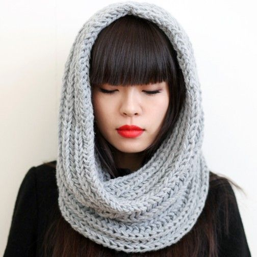 Snood -knitting project idea.. but maybe in some fun colors!