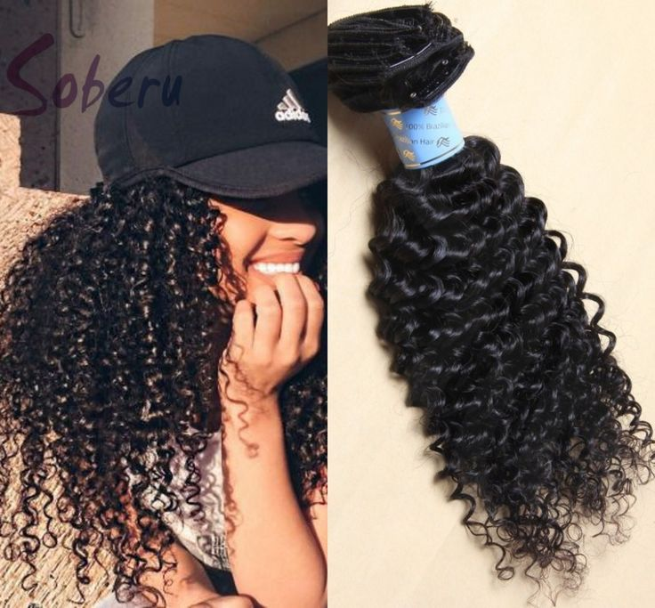 163 best beautiful hair images on pinterest information about find more human hair extensions information about hot sale deep curly clip in human hair extensions pmusecretfo Images