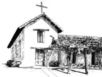 Mission San Francisco Solano (Sonoma, CA), pinned from napanet.net