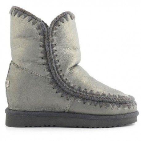 Boots Compensées Courte Eskimo CognacMou NT8yhZO