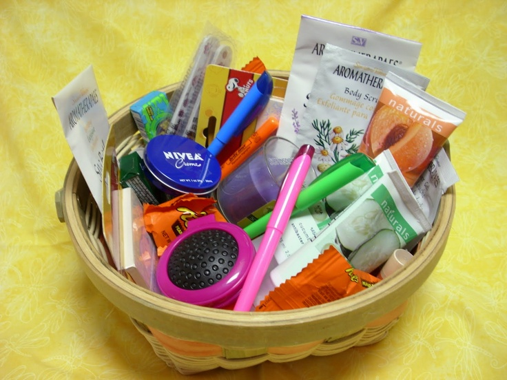 Basket of Goodies for those who do Personal Progress - motivators. Value-able Ideas