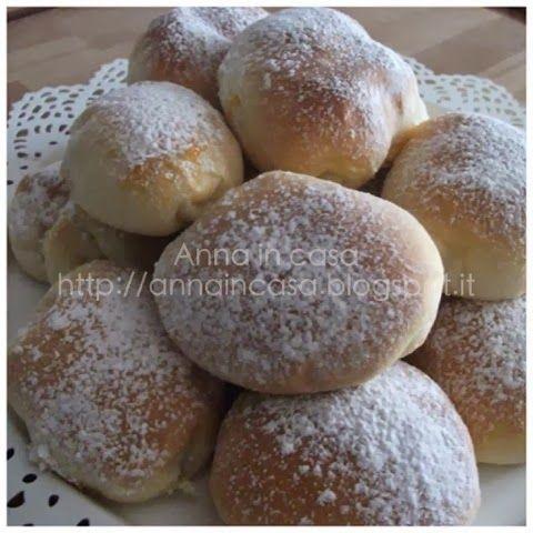 Anna in Casa: ricette e non solo: Bomboloni ripieni al forno Le ricette del bimby e....molte altre! *CRI*: