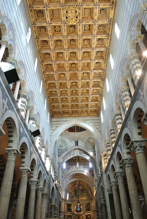 17 best images about places i 39 ve travelled to italy on for Coffered cathedral ceiling