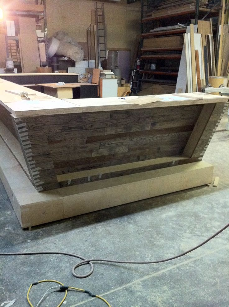Custom bar in production