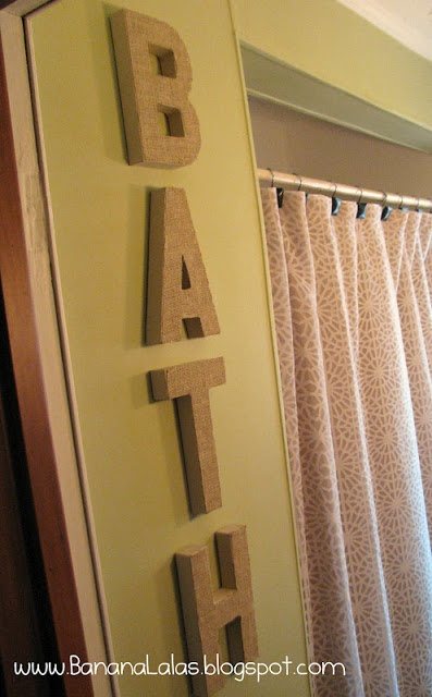 wrap our awesome wood and chipboard letters in burlap ribbon...instant impress!