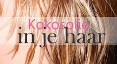 Kokosolie goed voor je haar. Kokosolie is rijk aan vetzuren die vochtinbrengend en voedend zijn voor ons hoofd en haar. Vele Polynesische culturen gebruiken nog steeds kokosolie als het ideale schoonheids-product. De olie wordt gebruikt als natuurlijke remedie tegen schilfers, luizen en het bevorderen van de haargroei. Door de olie wordt de hoofdhuid gezonder waardoor het haar dikker, gezonder en voller wordt. Hoe moet je de kokosolie verwarmen en op het haar aanbrengen ?