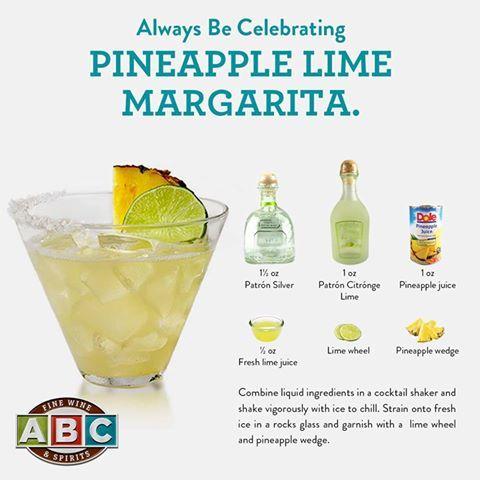 Patron Pineapple Lime Margarita