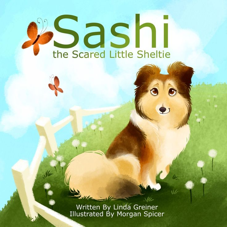 Sashi, the Scared Little Sheltie is the true story about a little dog who loses her home for doing what comes naturally to a pup bred to be a herder: she chases everything that moves. She doesn't understand why she is left at an animal shelter, and because she cowers in a corner of her cage, potential adopters pass her by. Sashi is helped by Sheltie Rescue and is ultimately adopted into a home where she blossoms into the dog she was meant to be.