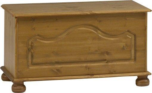 Richmond Pine Ottoman / Blanket Box / Storage Chest by Steens